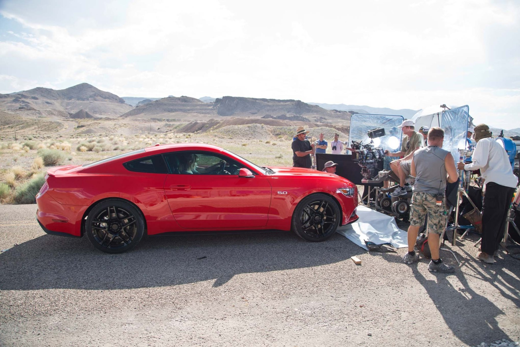 Need for Speed Behind the Scenes Photos & Tech Specs