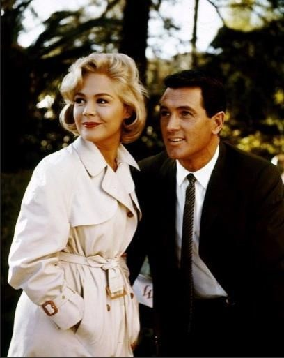 A Lovely Couple in Come September (1961) Behind the Scenes
