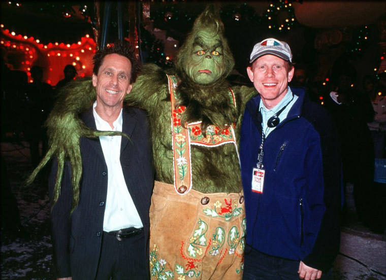 How the Grinch Stole Christmas Behind the Scenes Photos & Tech Specs