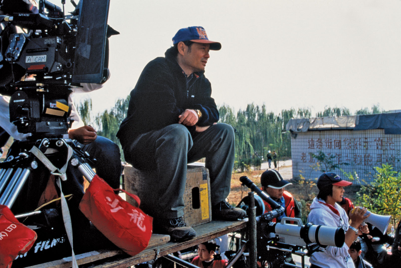 Ang Lee on the Set Behind the Scenes