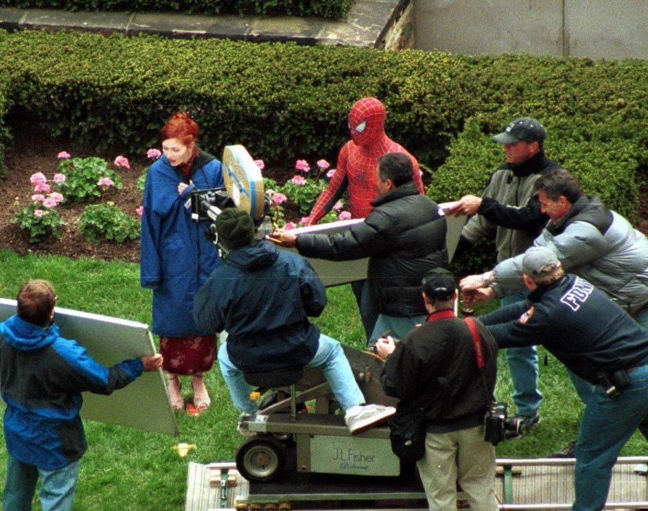Mary and Spider-Man Behind the Scenes