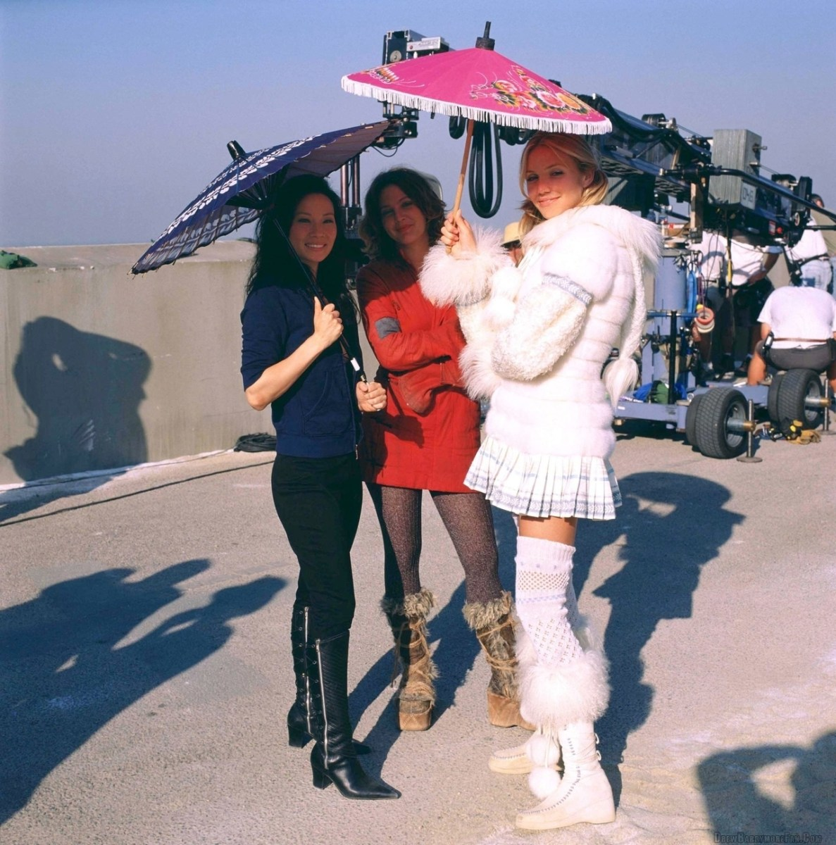 Charlie's Angels: Full Throttle Behind the Scenes Photos & Tech Specs