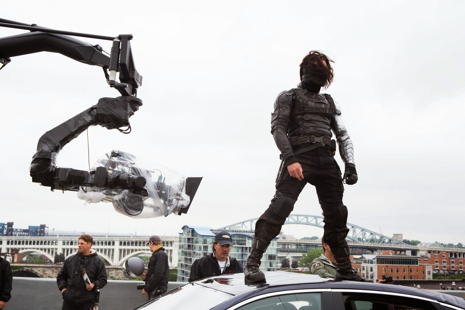 Captain America: The Winter Soldier (2014) Behind the Scenes