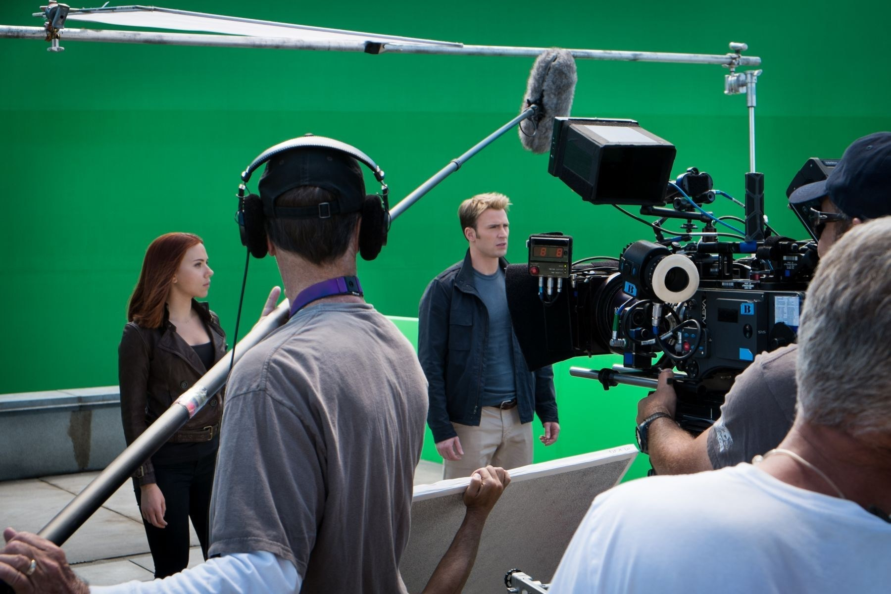 Captain America: The Winter Soldier Behind the Scenes Photos & Tech Specs