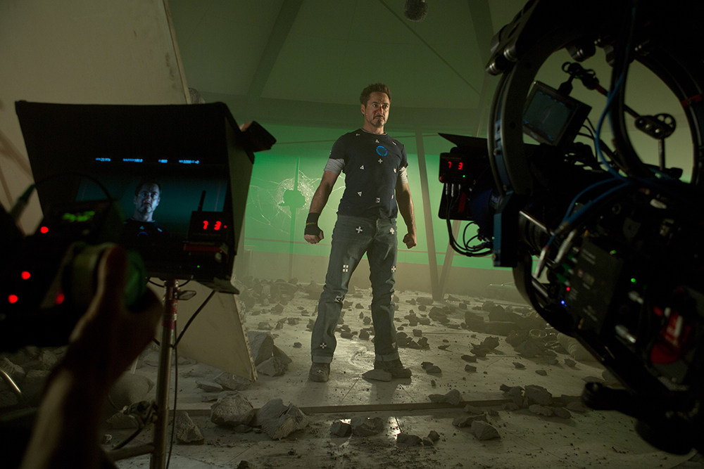 Iron Man Three Behind the Scenes Photos & Tech Specs