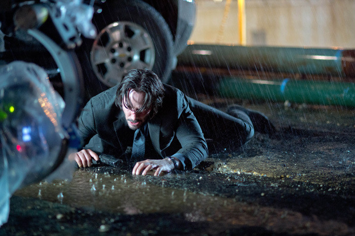John Wick Behind the Scenes Photos & Tech Specs