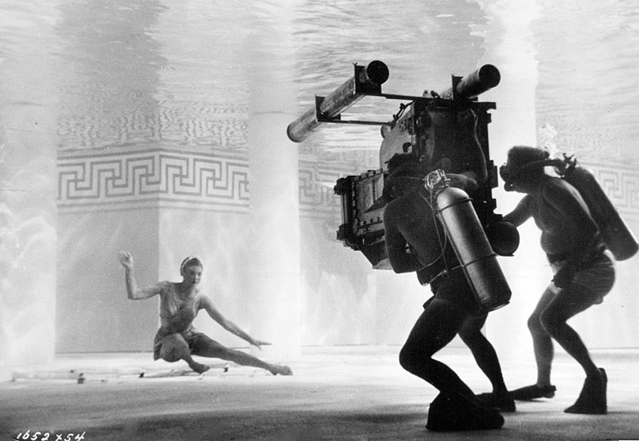 Esther Williams in Jupiter's Darling (1955) Behind the Scenes