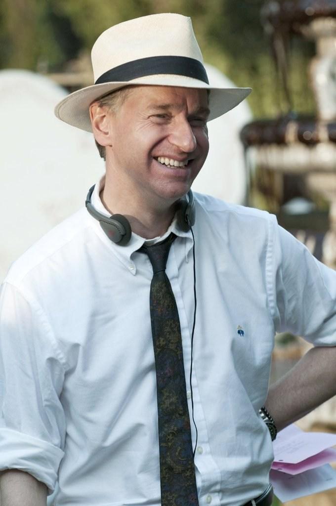 Paul Feig Smiles Behind the Scenes