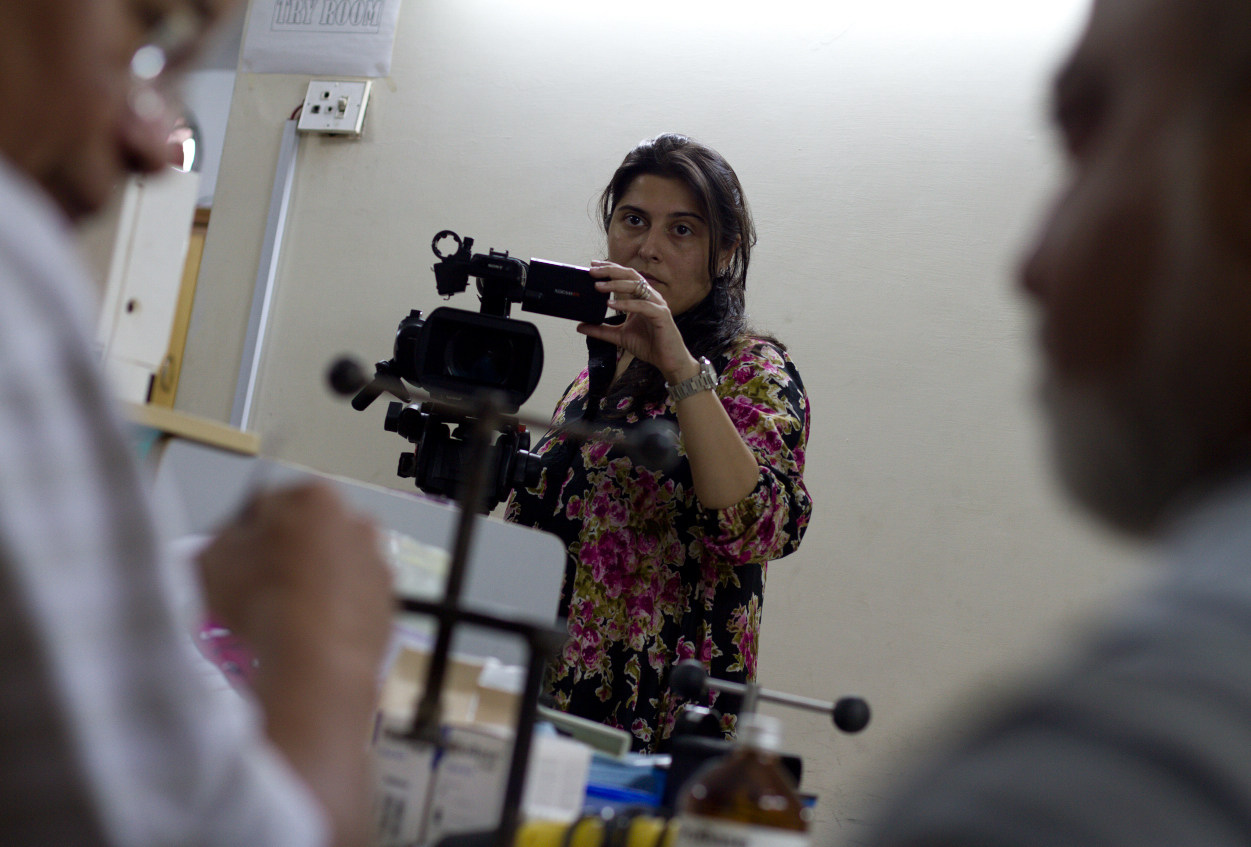 Filming Saving Face (2011) Behind the Scenes