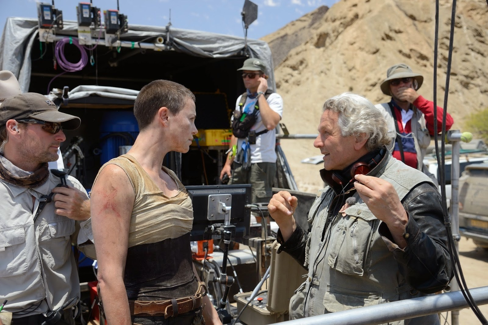 Mad Max: Fury Road Behind the Scenes Photos & Tech Specs