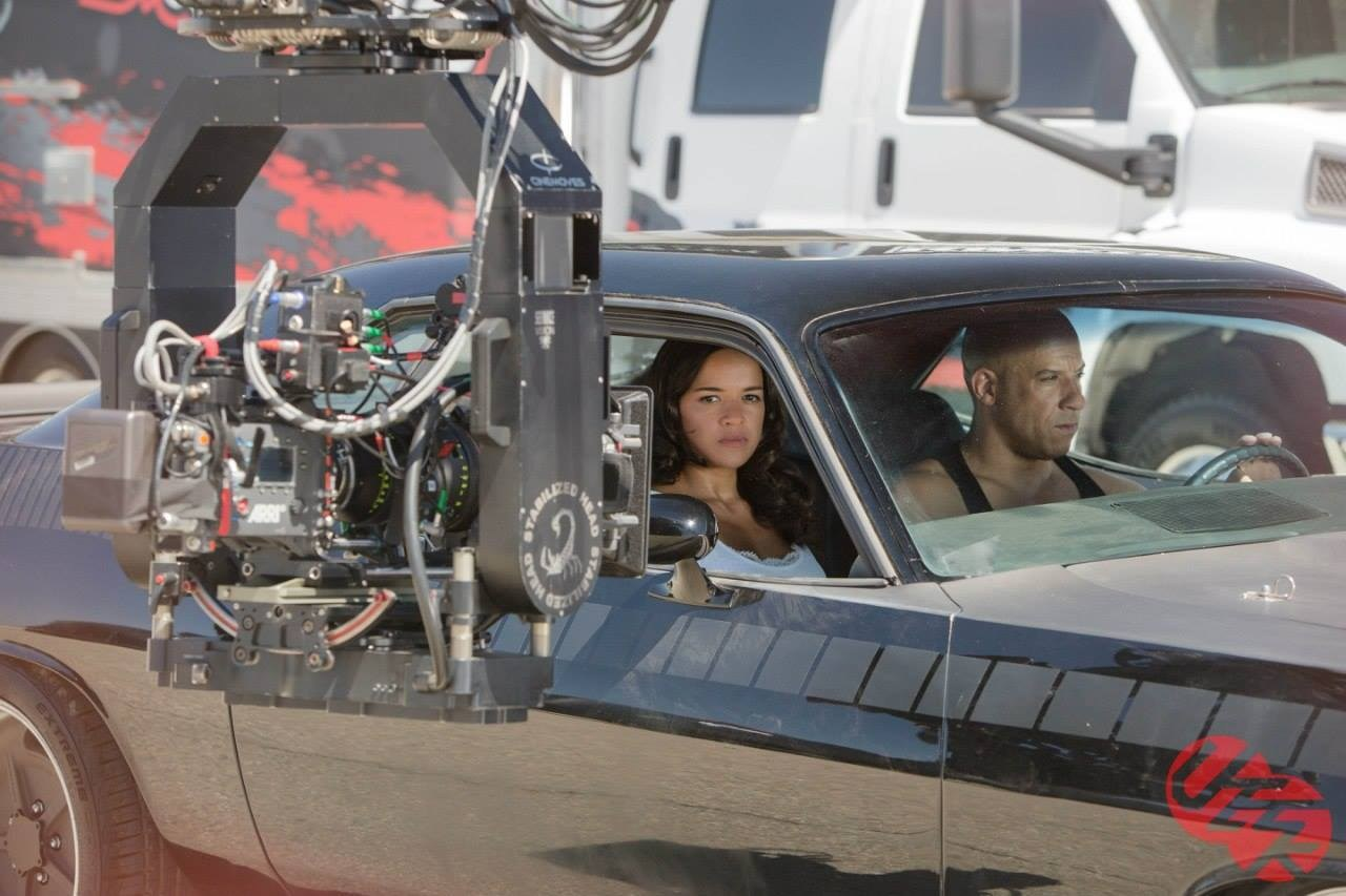 Furious 7 Behind the Scenes Photos & Tech Specs