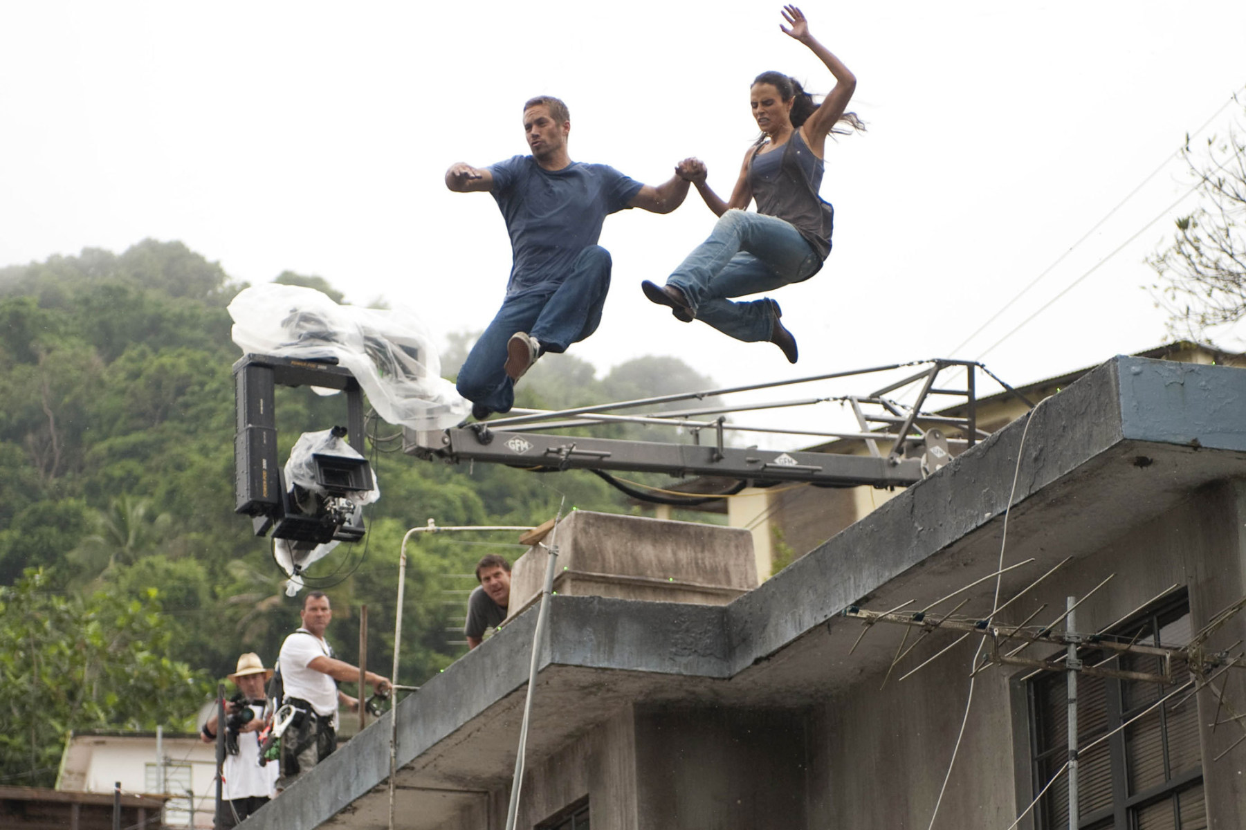 Fast Five Behind the Scenes Photos & Tech Specs