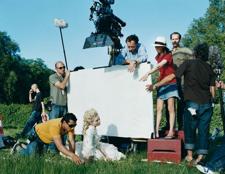 Preparing for Shooting Behind the Scenes