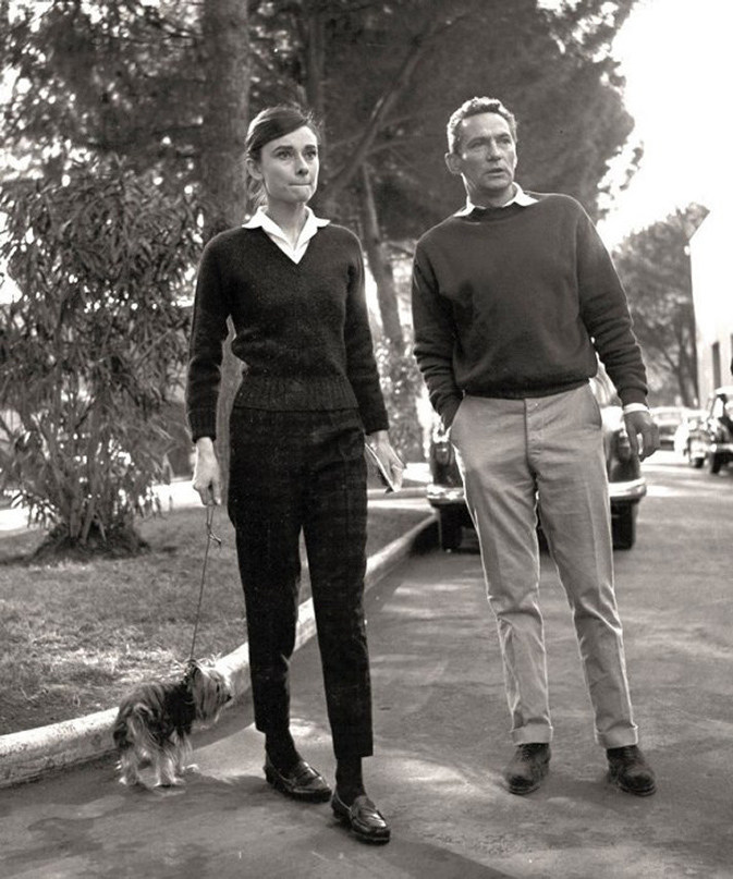Audrey, Peter & Mr. Famous Behind the Scenes