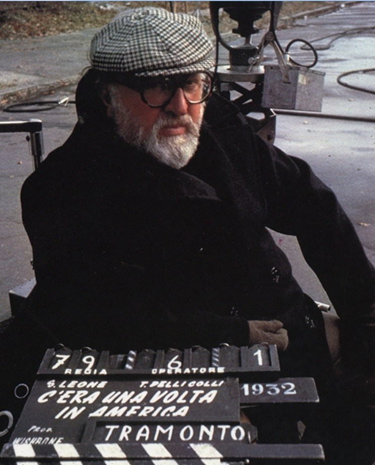 Sergio Leone on the Set Behind the Scenes