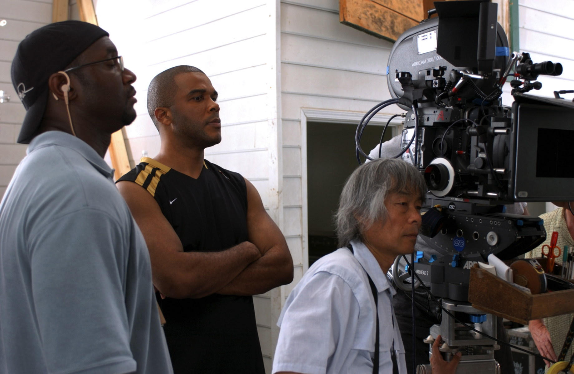 From the Film Madea's Family Reunion (2006) Behind the Scenes