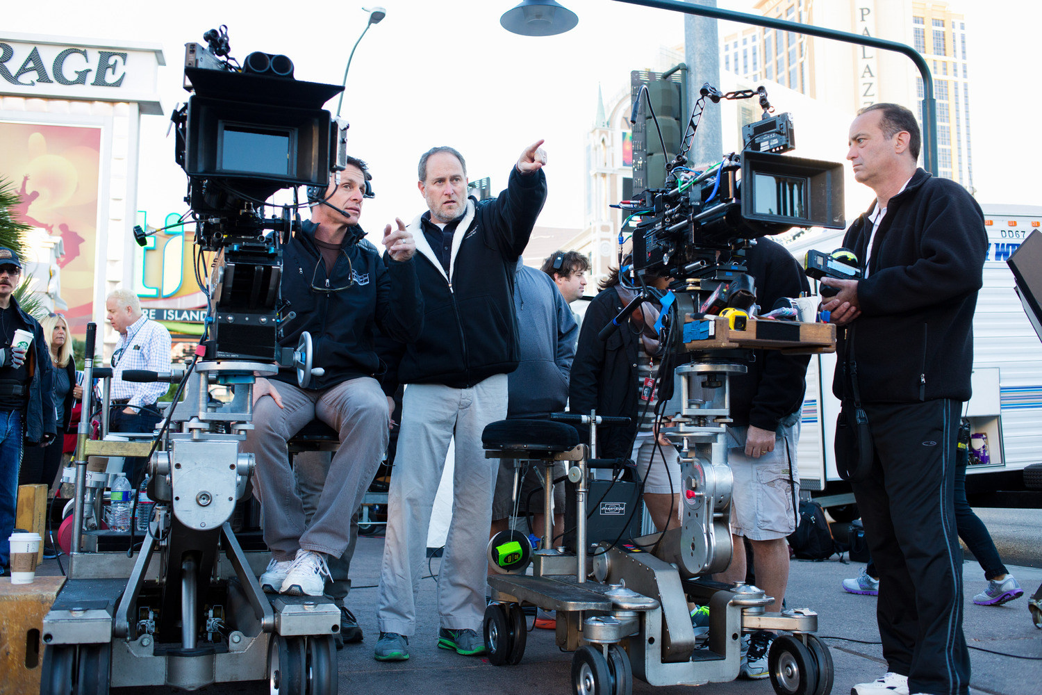 Last Vegas Behind the Scenes Photos & Tech Specs