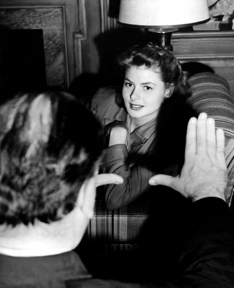 On Set of Spellbound (1945) Behind the Scenes