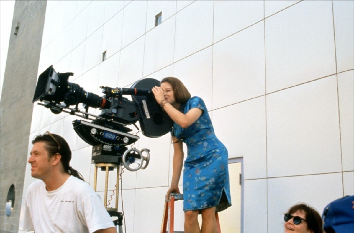 Jodie Foster as a Film Director Behind the Scenes