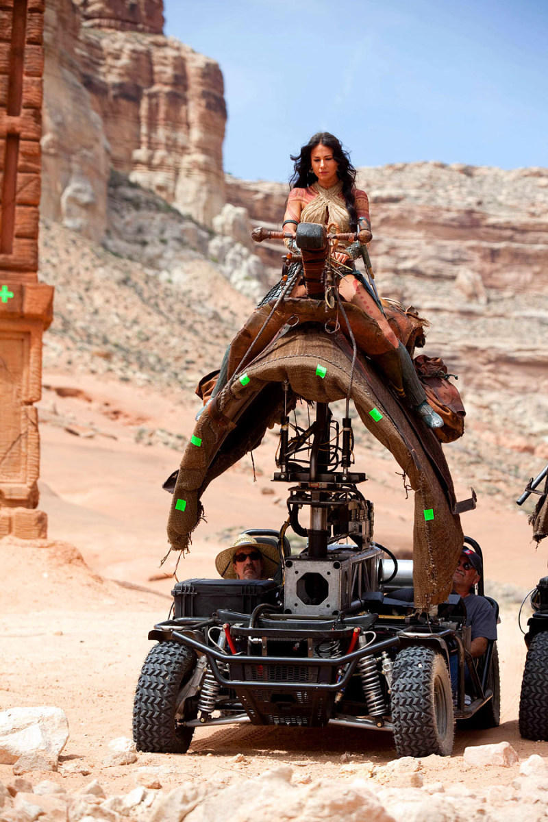 John Carter Behind the Scenes Photos & Tech Specs