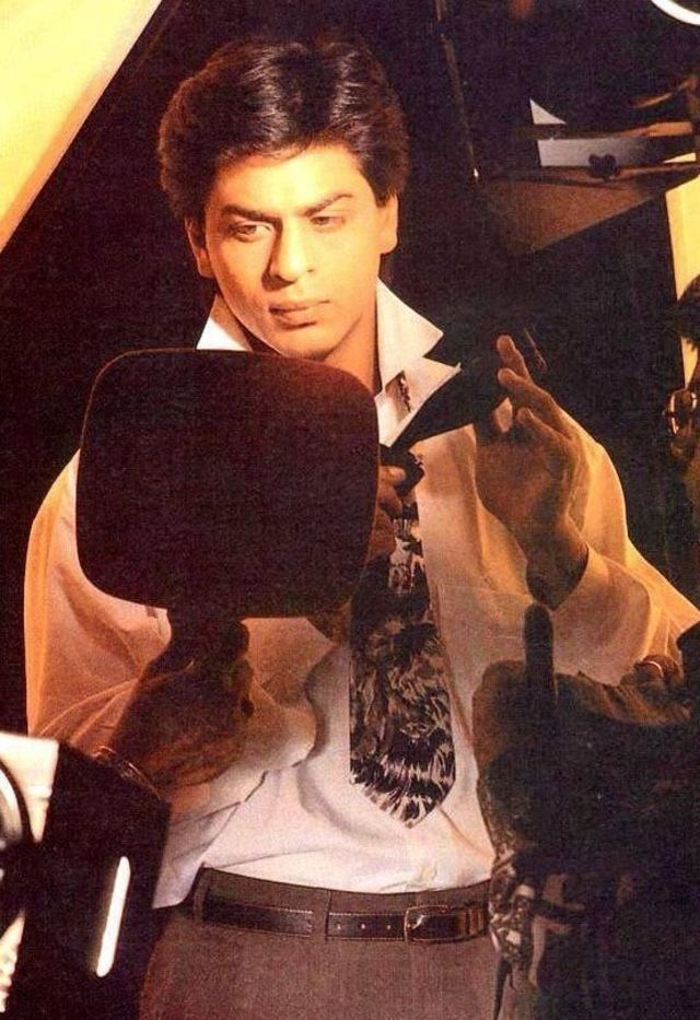 SRK in Yes Boss (1997) Behind the Scenes