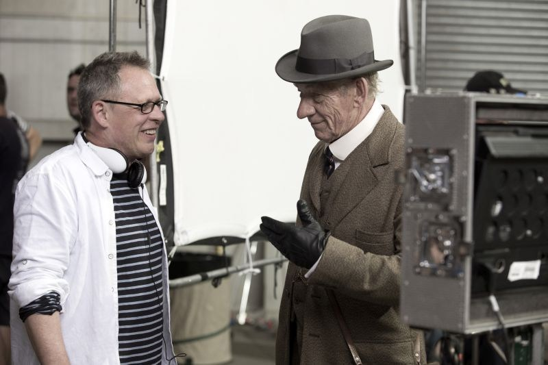 Ian McKellen as Mr. Holmes Behind the Scenes