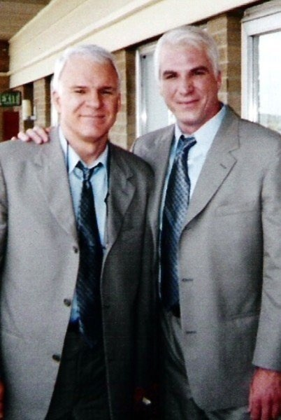 Steve Martin and Steve Martin Behind the Scenes