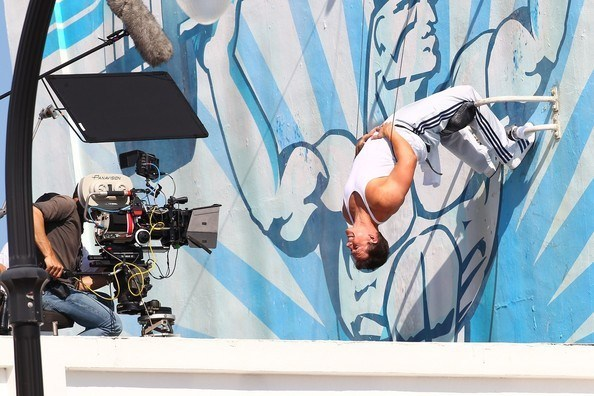 Mark in Pain and Gain (2013) Behind the Scenes
