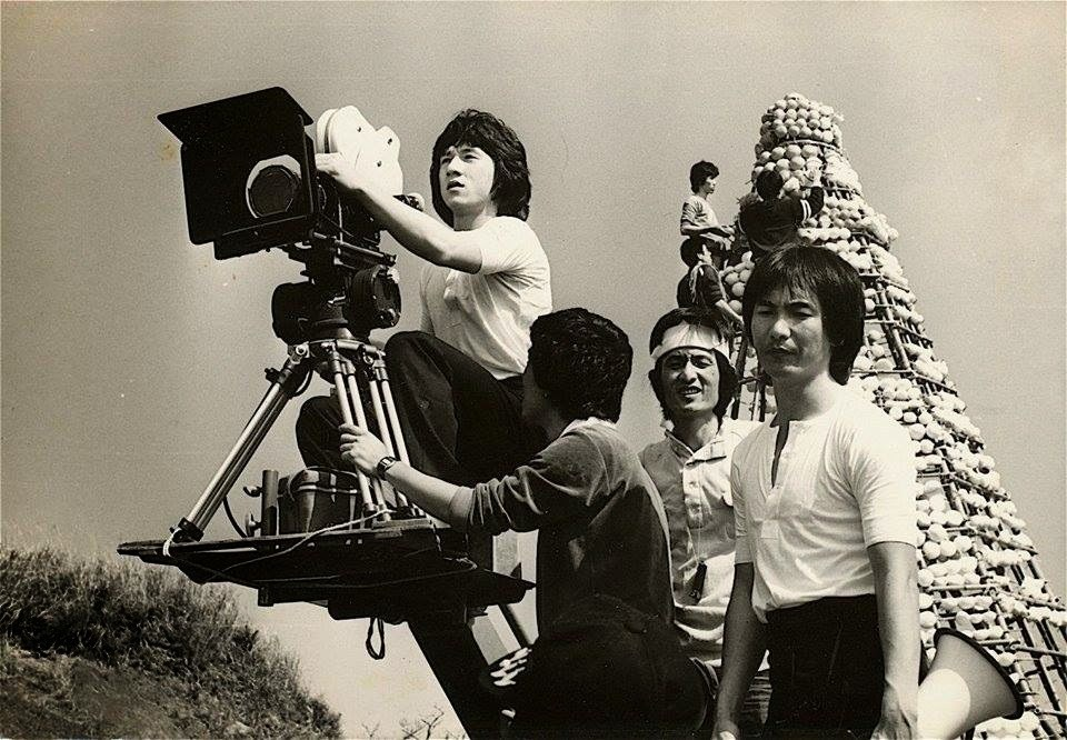 Jackie Chan Directs Behind the Scenes