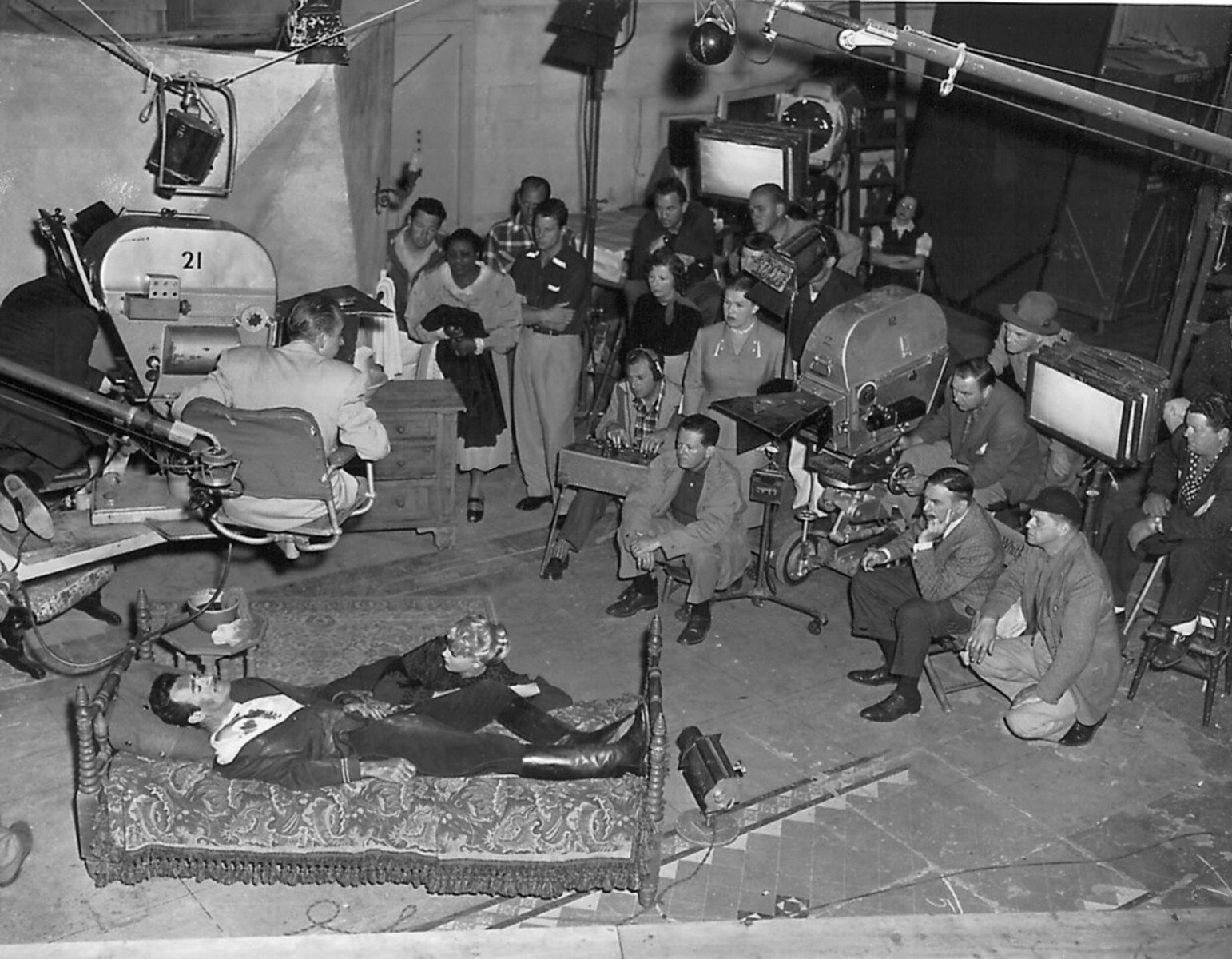Filming The Bad and the Beautiful (1952) Behind the Scenes