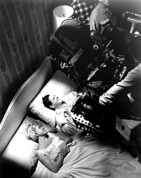 Filming Send Me No Flowers (1964) Behind the Scenes