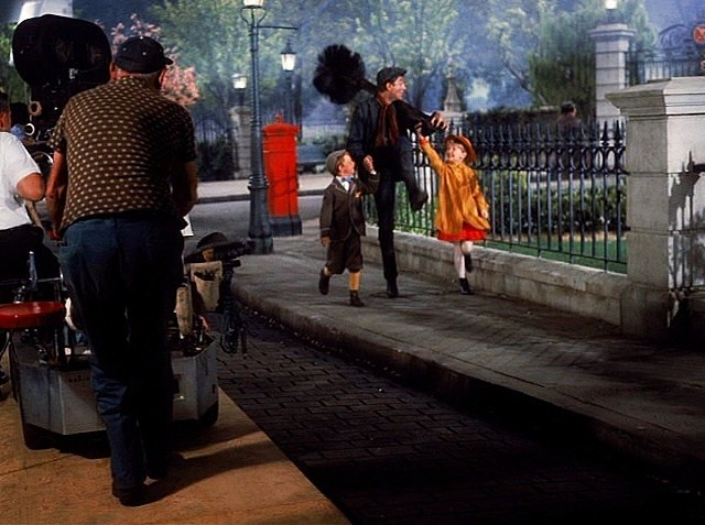 Filming Mary Poppins (1964) Behind the Scenes