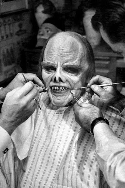 From the Film Man of a Thousand Faces (1957) Behind the Scenes