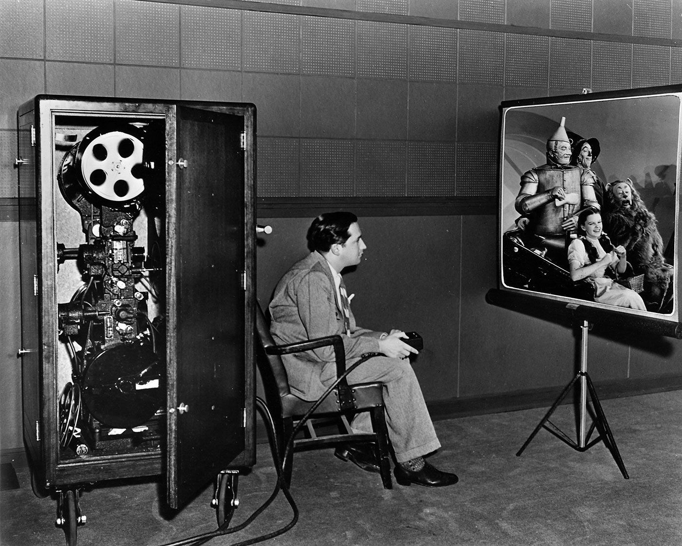 From the Film The Wizard of Oz (1939) Behind the Scenes