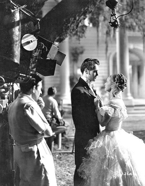 Filming Jezebel (1938) Behind the Scenes