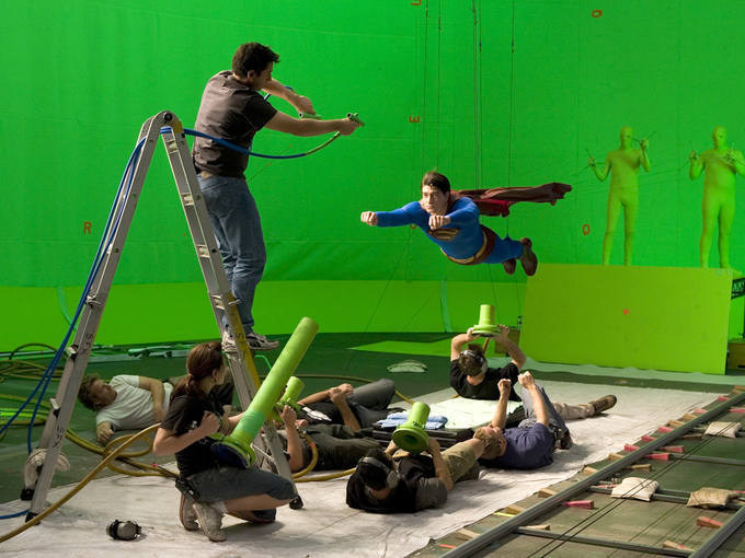 Superman Returns (2009) Behind the Scenes