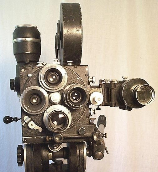 A Movie Camera Behind the Scenes