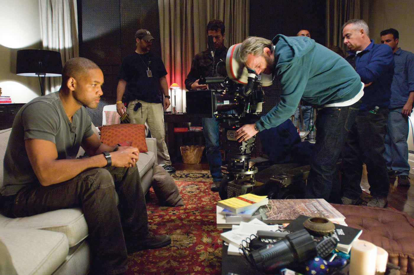 I Am Legend Behind the Scenes Photos & Tech Specs