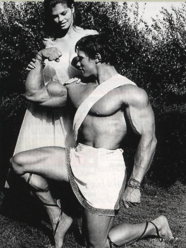 Hercules and Helen Behind the Scenes