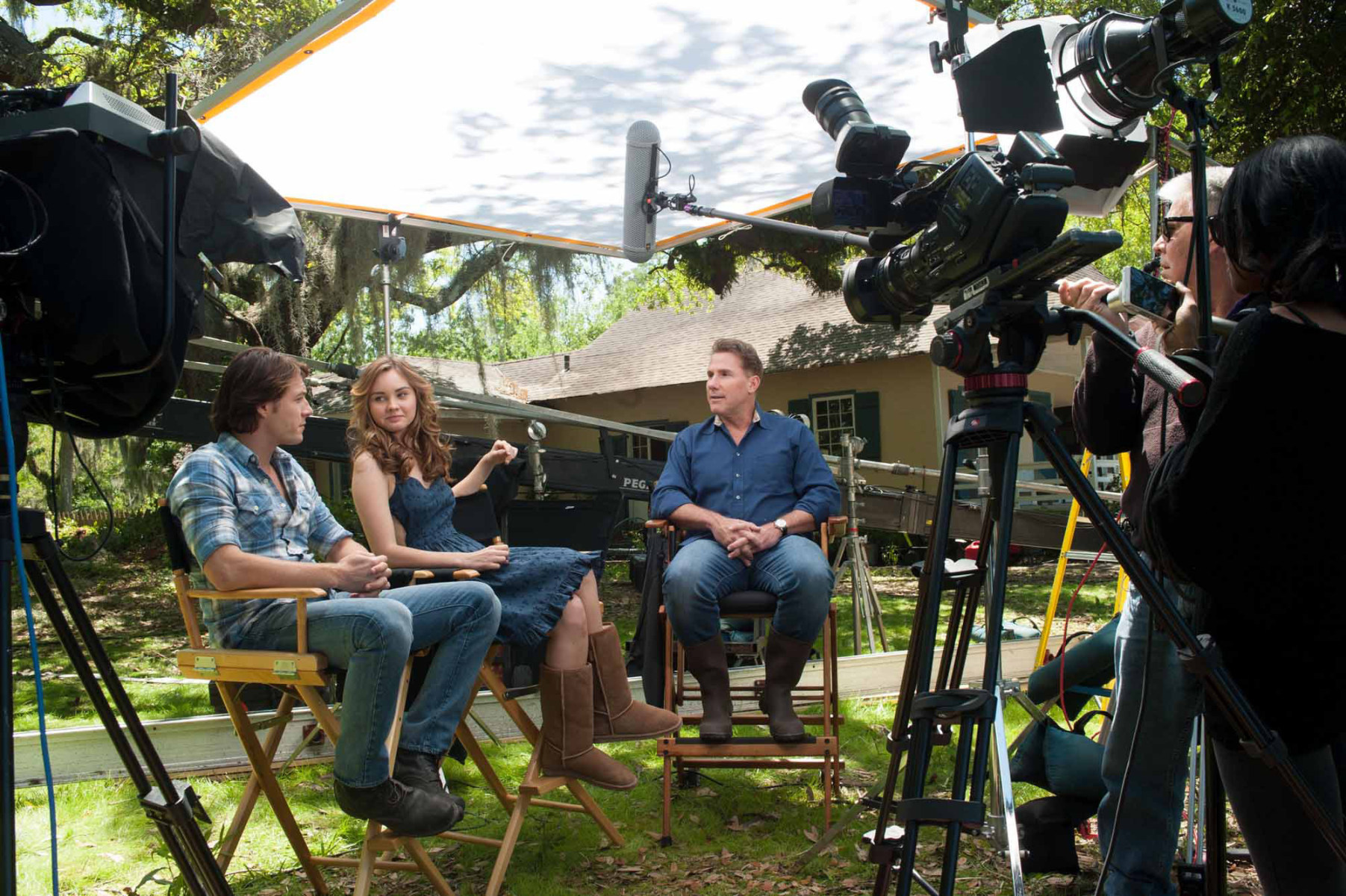 From the Film The Best of Me (2014) Behind the Scenes