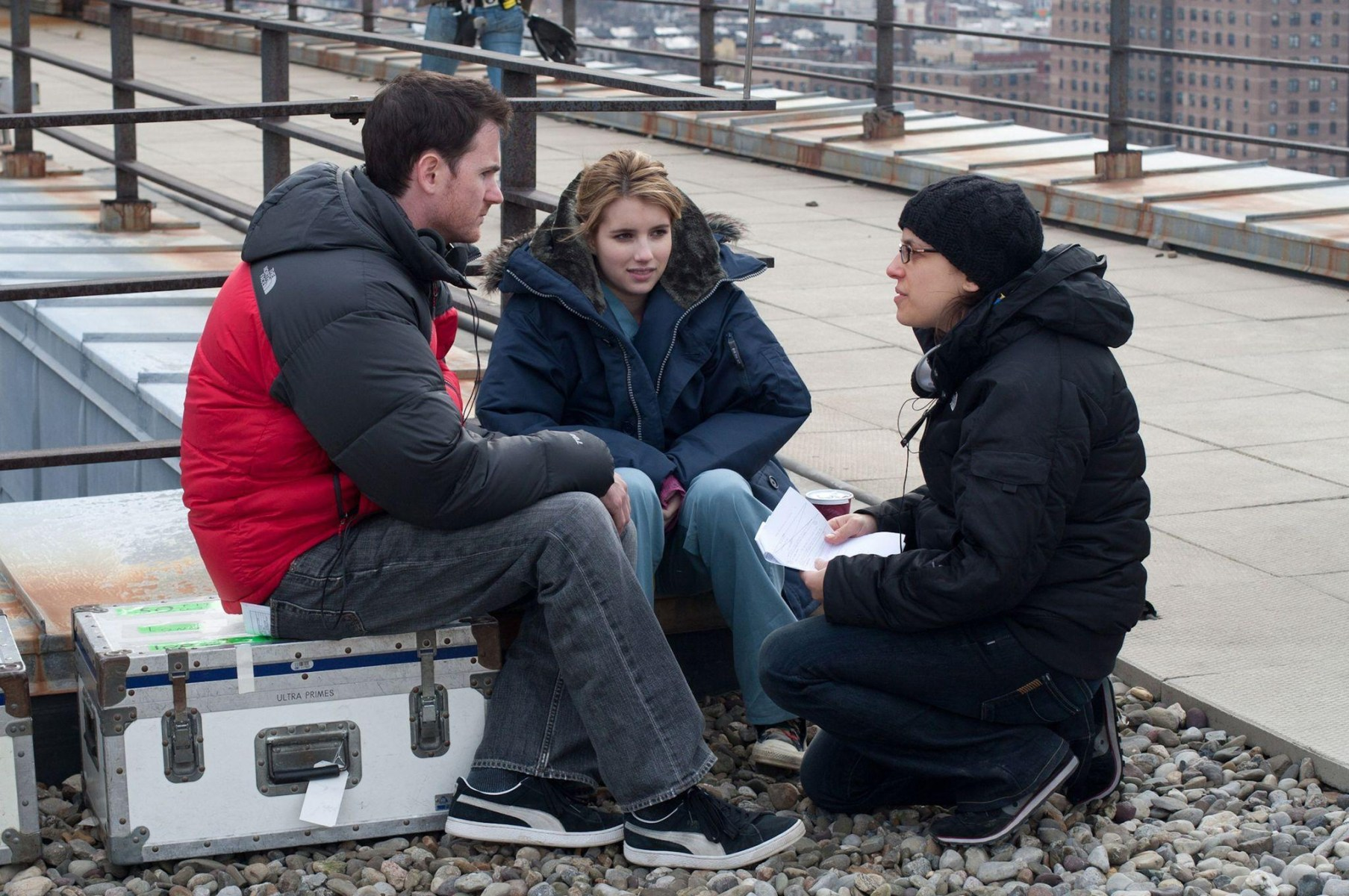 Two Directors and the Actress Behind the Scenes