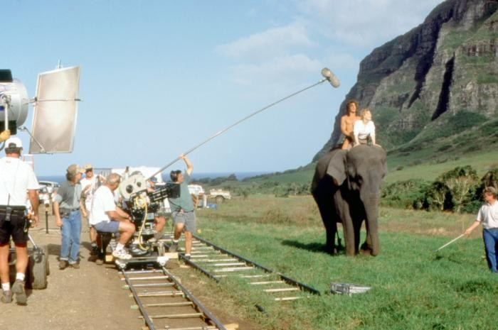 Filming George of the Jungle (1997) Behind the Scenes