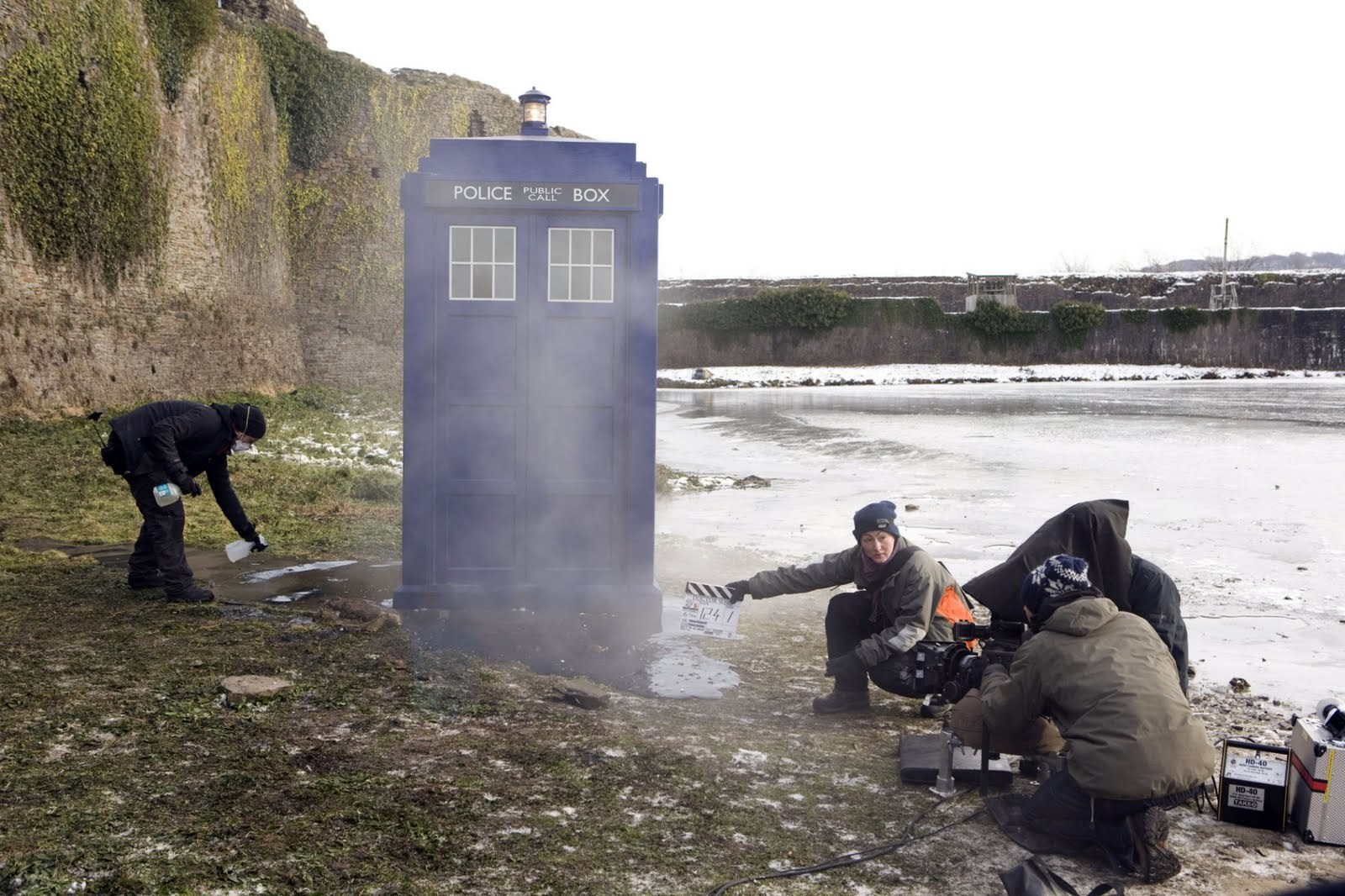 Doctor Who Behind the Scenes Photos & Tech Specs