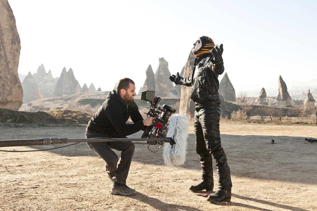 Ghost Rider: Spirit of Vengeance Behind the Scenes Photos & Tech Specs