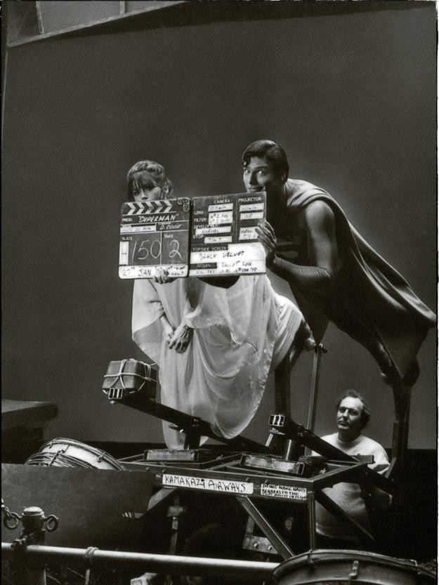 Superman Behind the Scenes Photos & Tech Specs