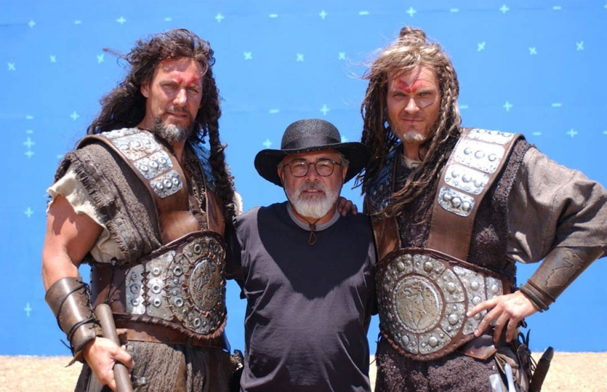 From the Film Dark Kingdom: The Dragon King (2004) Behind the Scenes