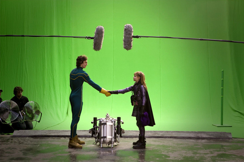 Kick-Ass Behind the Scenes Photos & Tech Specs