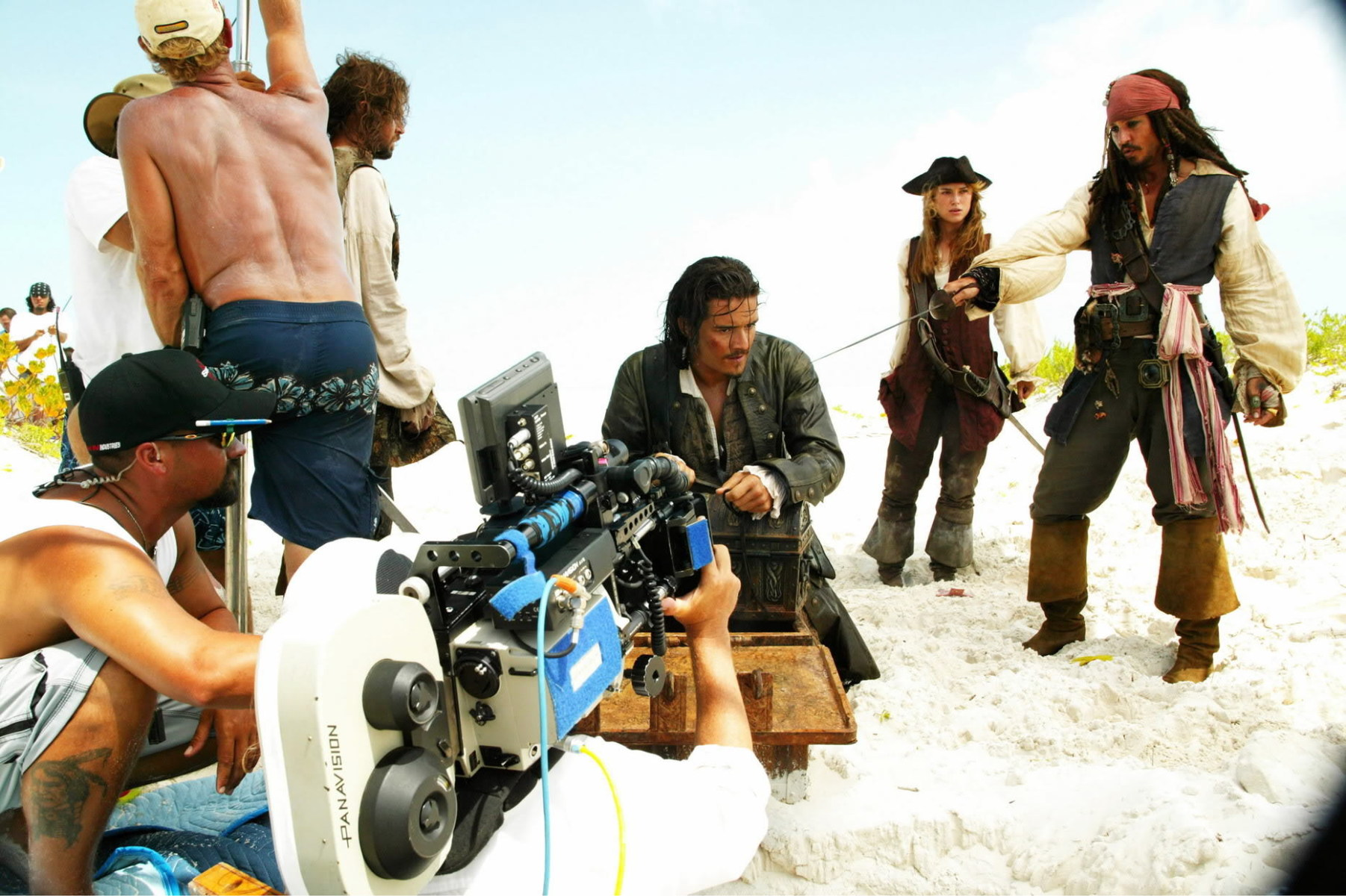 Pirates of the Caribbean: Dead Man's Chest Behind the Scenes Photos & Tech Specs