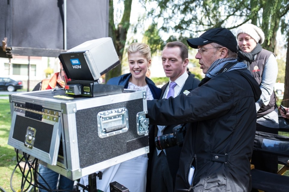 On Set of Hector and the Search for Happiness (2014) Behind the Scenes