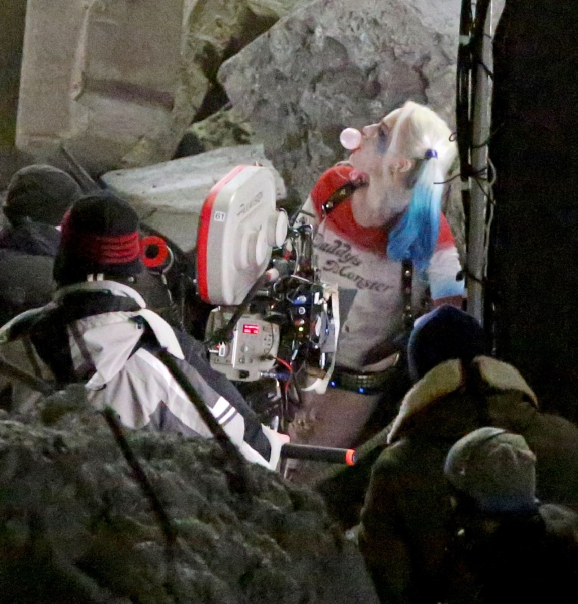 Suicide Squad Behind the Scenes Photos & Tech Specs